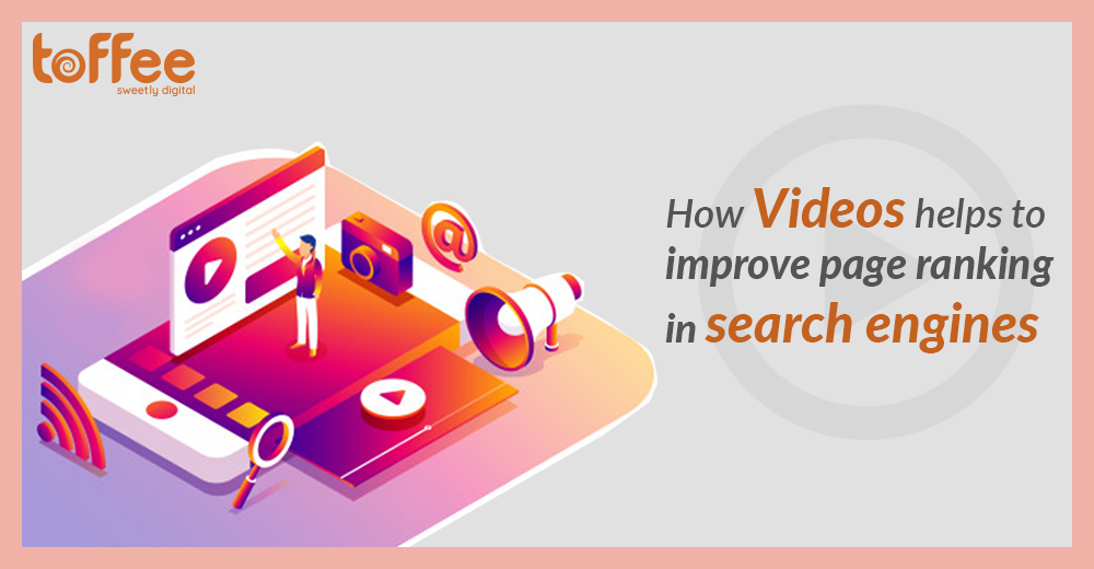 Using videos to improve page ranking in search engines
